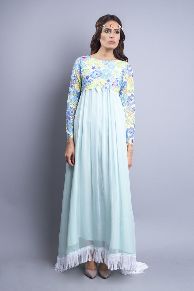 Chenille boutique Pastel Chiffon Dress
