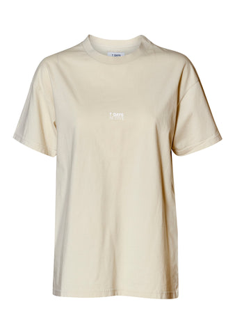 Korean Town Cream Tee