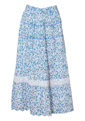 Saratoga Blue Jay Song Skirt