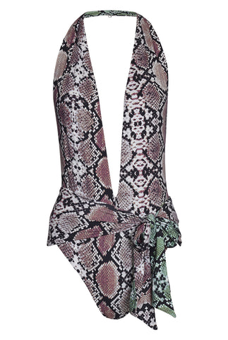 Hanne Bloch Snake Reversible swimsuit SALE