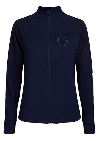 7 DAYS Navy Blue Tech Zip Jacket