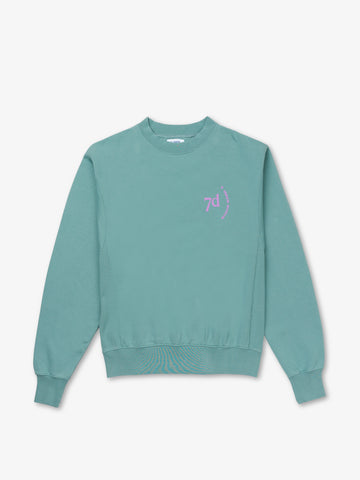 Silver Blue Monday Crew Neck