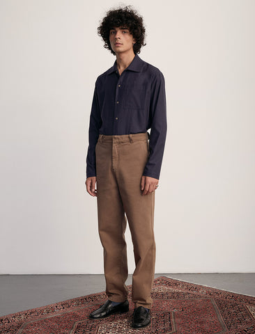 Another Pants Teak Cotton Chinos