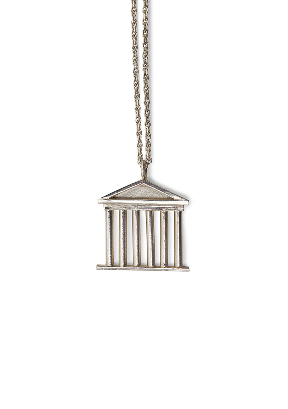 Akropolis Silver Necklace