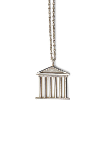 Olga Bonne Akropolis Necklace Silver