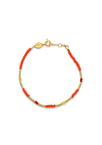 Anni Lu Red Solid Bracelet