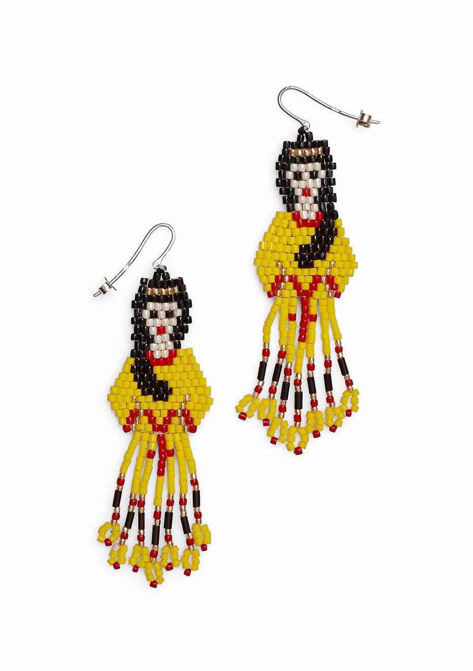 Yellow Gipsy Lady Earrings