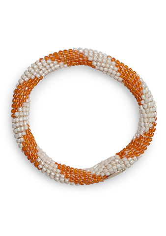Aprosio & Co. White & Orange Bracelet
