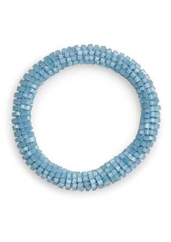 Aprosio & Co. Shell Baby Blue Bracelet