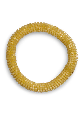 Aprosio & Co. Shell Yellow Bracelet