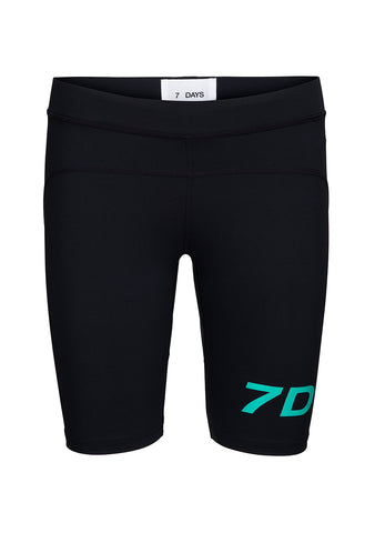 7 DAYS Black Sprinter Tights