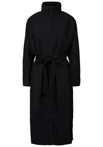 BRGN Storm Black Coat online at lot29.dk