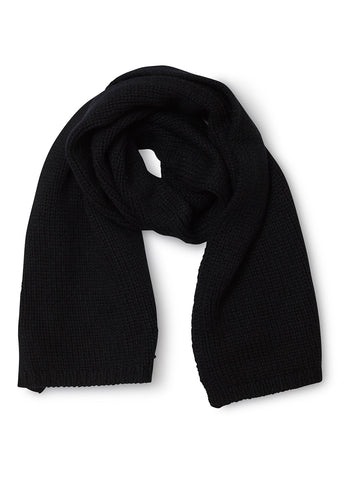 Bad Habits Black Cashmere Scarf