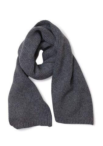 Bad Habits Grey Cashmere Scarf