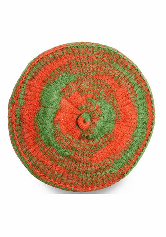 Missoni Orange & Green Beret Hat