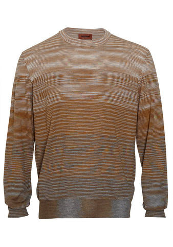 Missoni Men Striped Crewneck Sweater