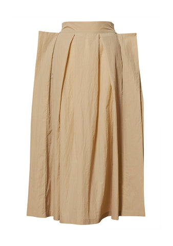 Birrot Beige Onuel Skirt shop online at lot29.dk