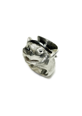 Danger Jewels Big Bad Wolf Ring