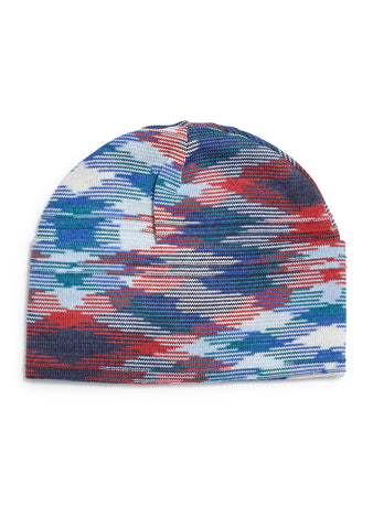 Missoni Men Blue Wool Hat