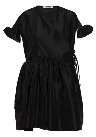 Cecilie Bahnsen Prisca Faille Wrap Dress