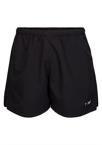 7 DAYS Black Champion Shorts