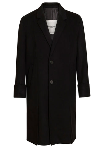 Wooyoungmi Black Wool Coat
