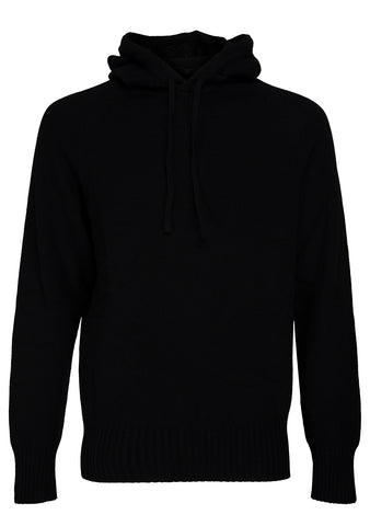 Bad Habits Black Cashmere Hoodie shop online at lot29.dk