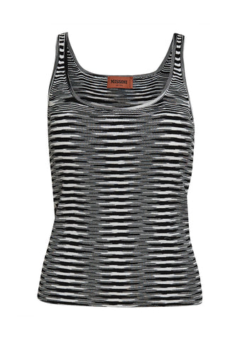 Missoni Black Striped Top