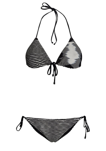 Missoni Mare Striped Triangle Bikini