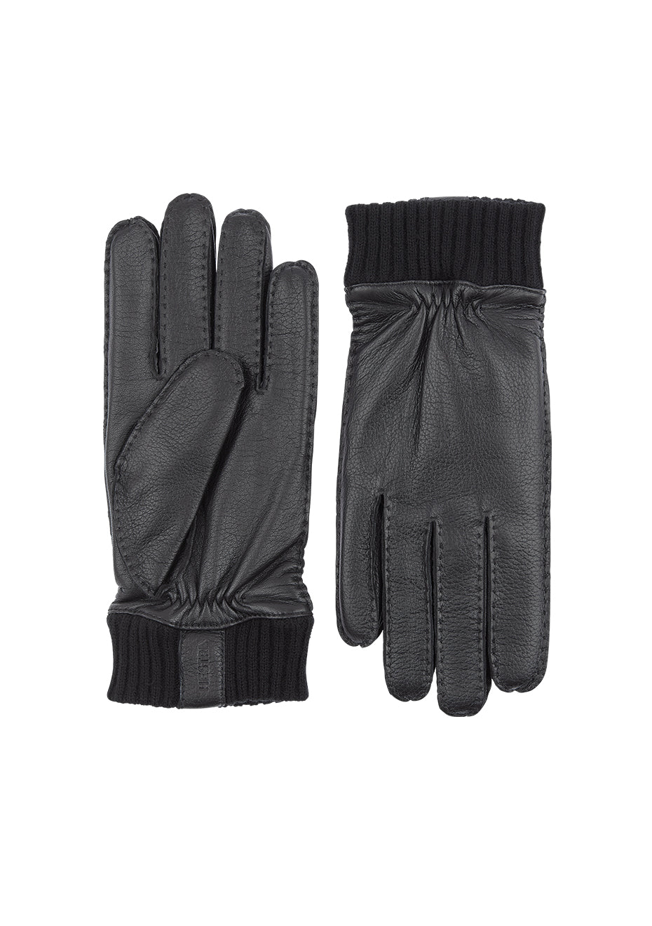 Black Vale Elk Leather Gloves
