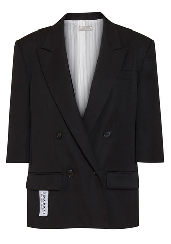 Nina Ricci Double-breasted Wool Blazer