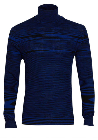 Missoni Striped Turtleneck