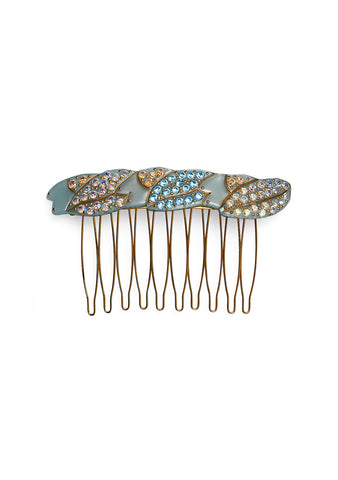 MC Davidian Blue Hair Comb