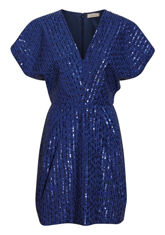 Nina Ricci Midnight Sequin Dress