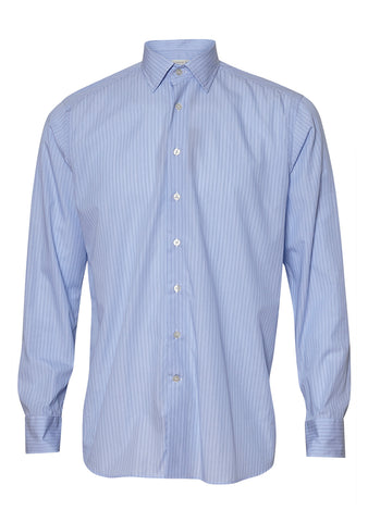 Etro Light Blue Striped Shirt shop online at lot29.dk