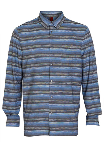 Missoni Blue Striped Shirt