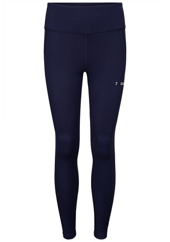 7 DAYS Navy Blue TKO High Waist Tights