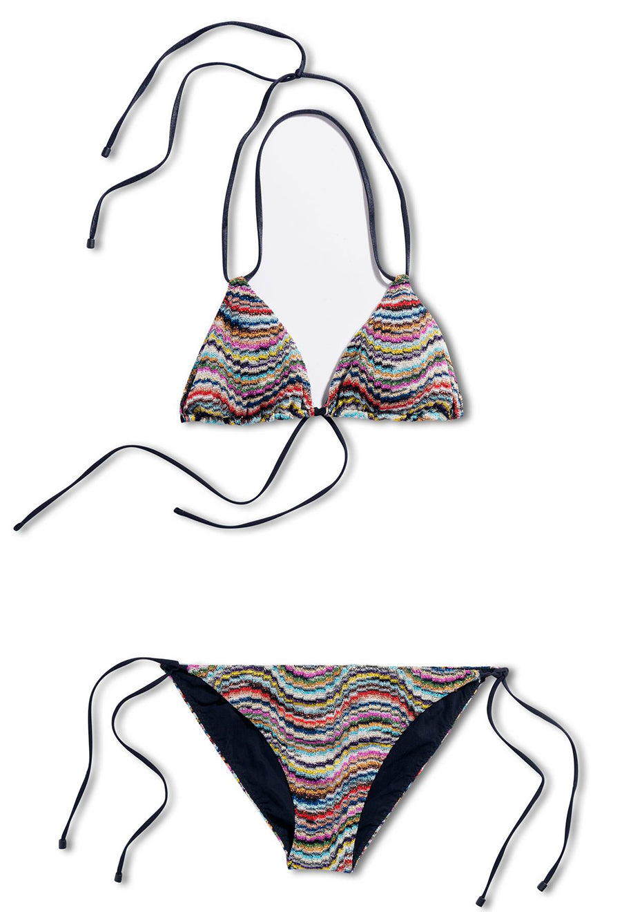 Wave Triangle Bikini