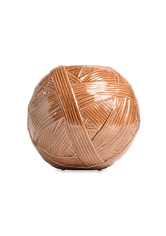 Missoni Home Small Brown Gomitolo Vase