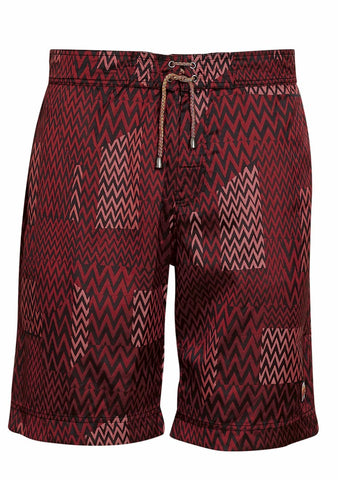 Burgundy Swim Shorts