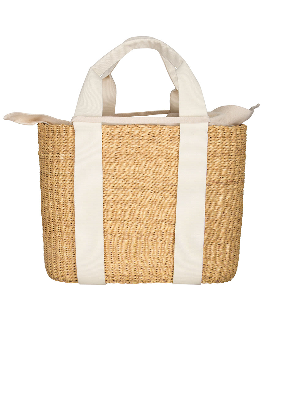 Caba G Straw Bag