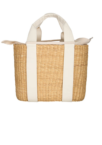 Muun Caba G Straw Bag