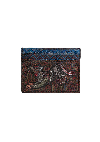 Etro Animal Printed Card Case