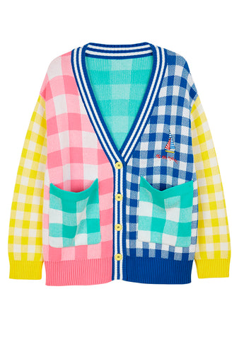 Mira Mikati Check Jacquard Cardigan shop online at lot29.dk