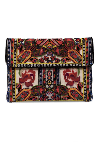 Etro Embroidered Lace Shoulder Bag
