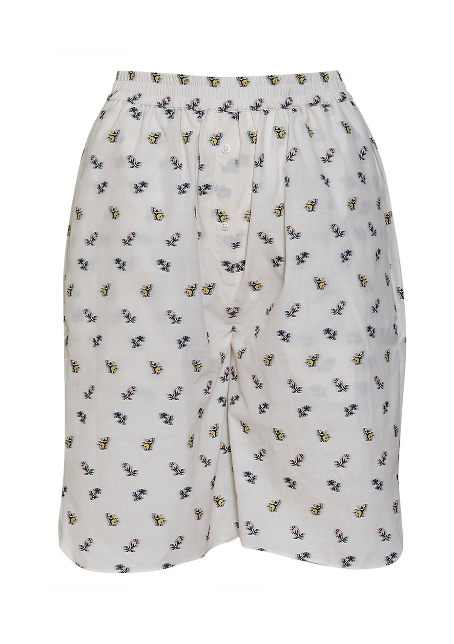 Simone Ditsy Floral Cotton Shorts