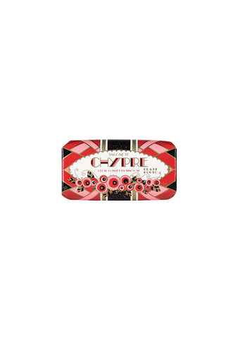 Claus Porto Chypre Cedar Poinsettia Mini Soap