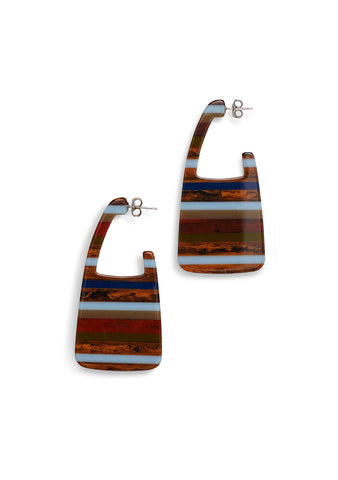 Rachel Comey Elsie Layered Stone Earrings