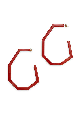 Rachel Comey Emory Coral Earrings