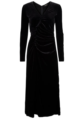 Rachel Comey Lateral Dress Black Velvet